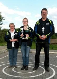 Einzelmeisterschaft 2015: Maria Kolbinger gewinnt erneut.
